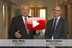 Klaus Weiler mit Manfred Lamers im Interview